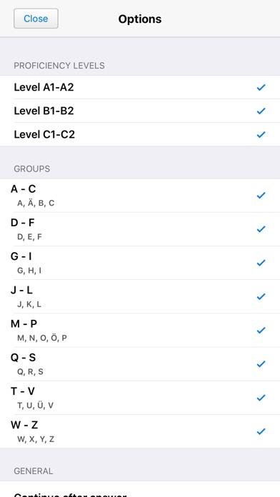 German Gender Test Screenshots