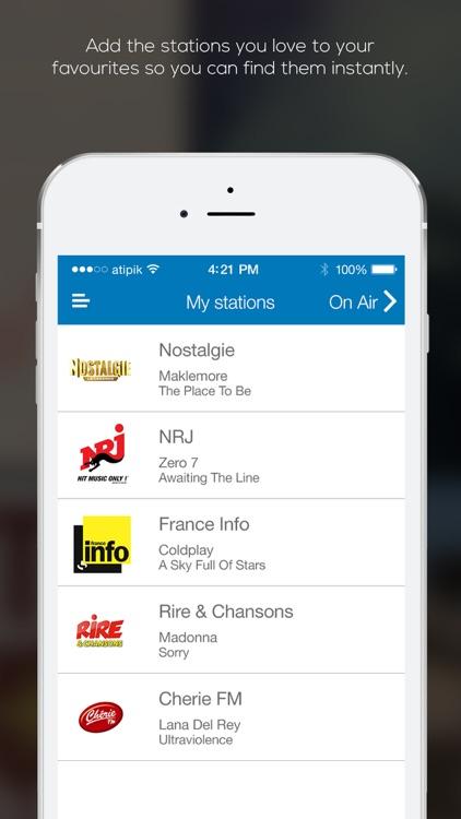 FrenchRadio Stations screenshot-3