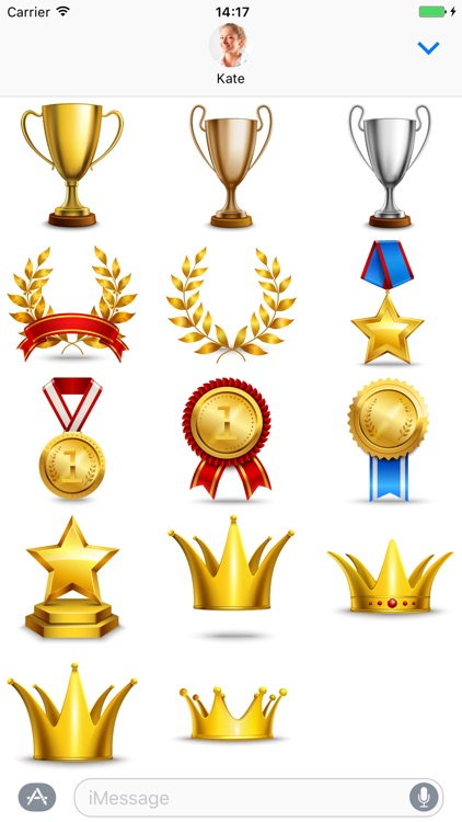 Awards - Stickers for iMessage