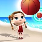 Bubble Shooter Beach Sports Girl icon