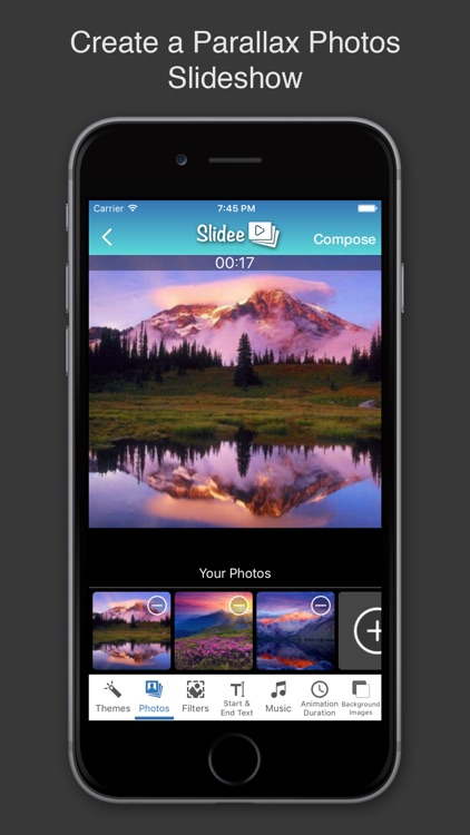 Slidee Pro Easy Photo Slideshow Maker with Music screenshot-0