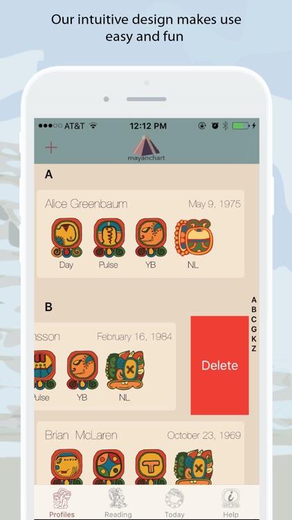 MayanChart - Mayan astrology and your Maya signs screenshot-3