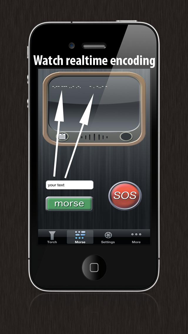 手电筒和莫尔斯实用程序屏幕截图4