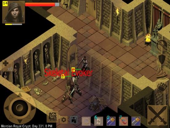 Exiled Kingdoms RPG на iPad