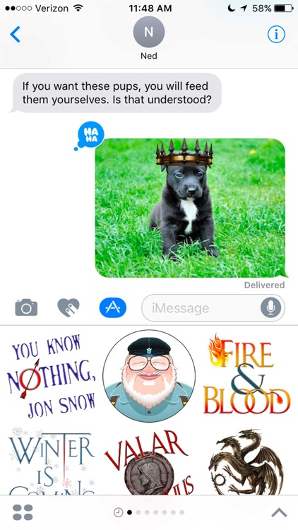 George R. R. Martin Stickers screenshot-4