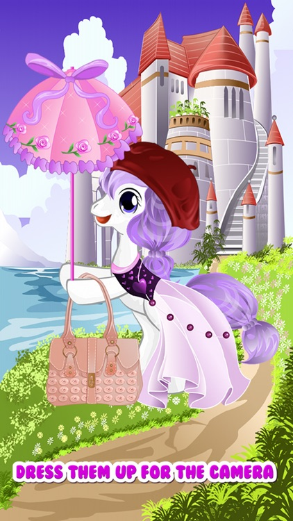 Pony Dress Up Games for Girls