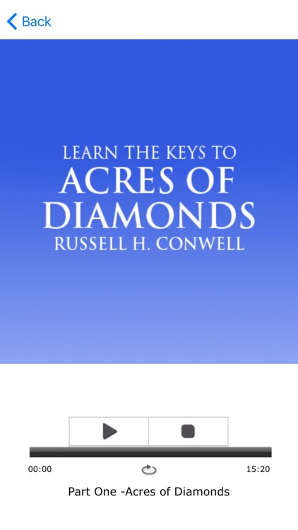 Acres Of Diamonds by Russell Conwell Meditations screenshot-3