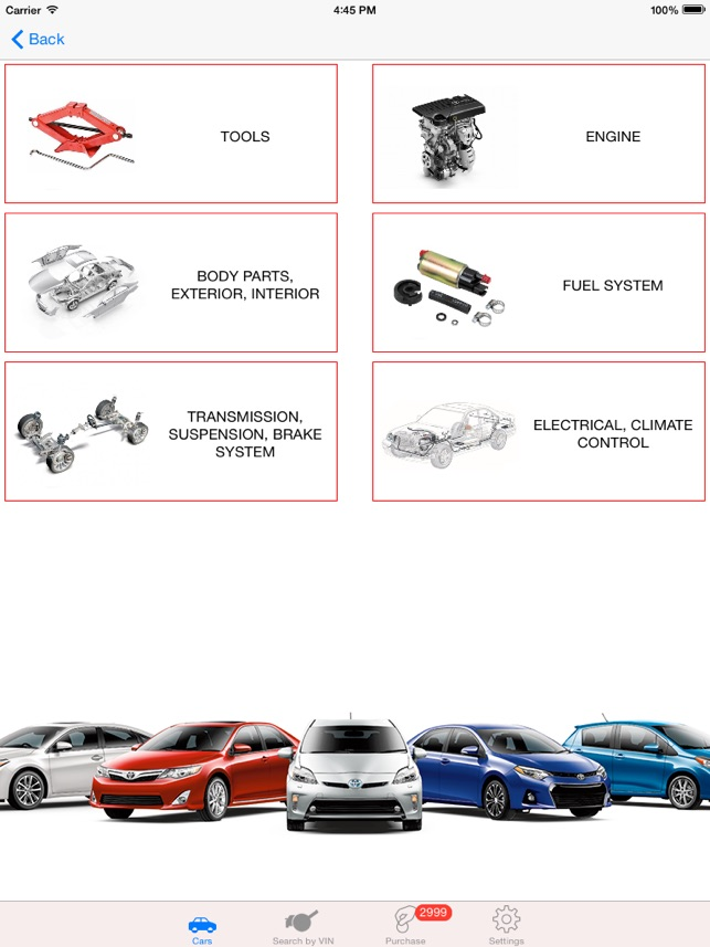 toyota parts diagram vin on the app store rh itunes apple com