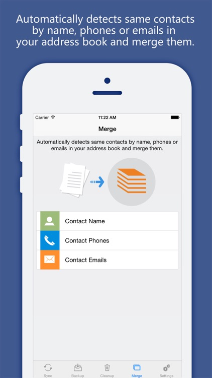 Contacts Sync, Backup & Clean Pro for Google Gmail screenshot-3