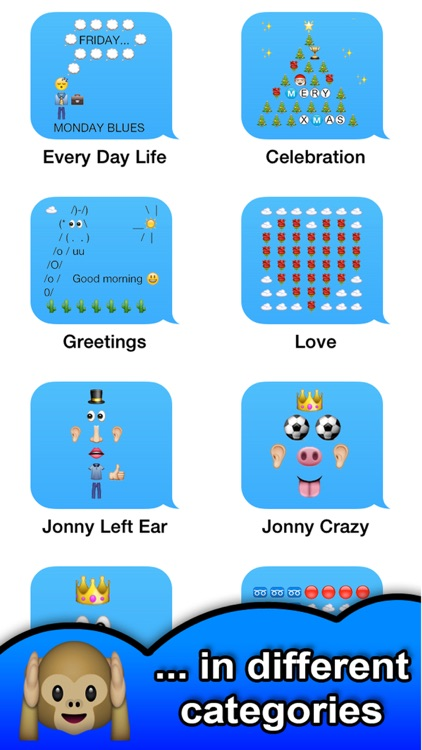 SMS Smileys Emoji Sticker PRO screenshot-2