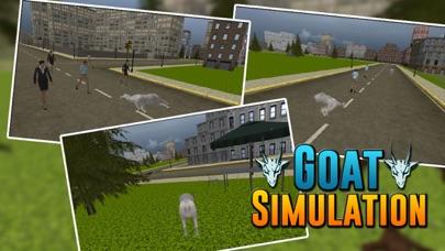 Angry Goat City Simulator 3D screenshot two