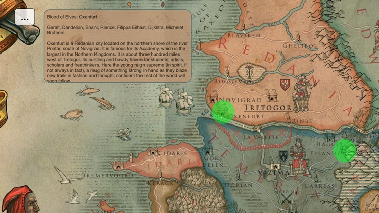 Map for The Witcher screenshot-4