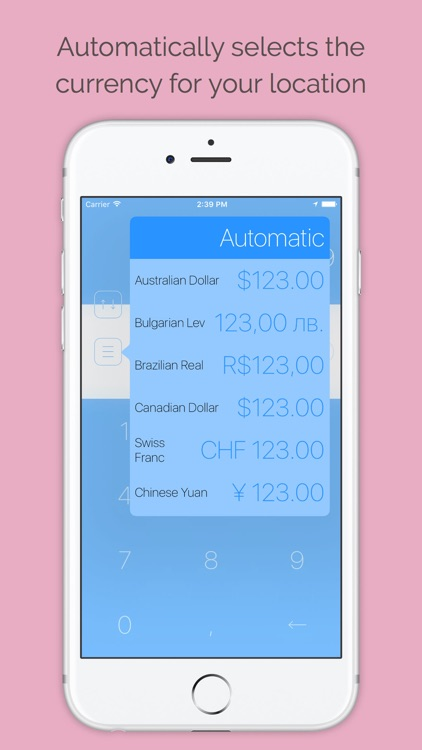 Currency Converter Pro with Geo-based conversion