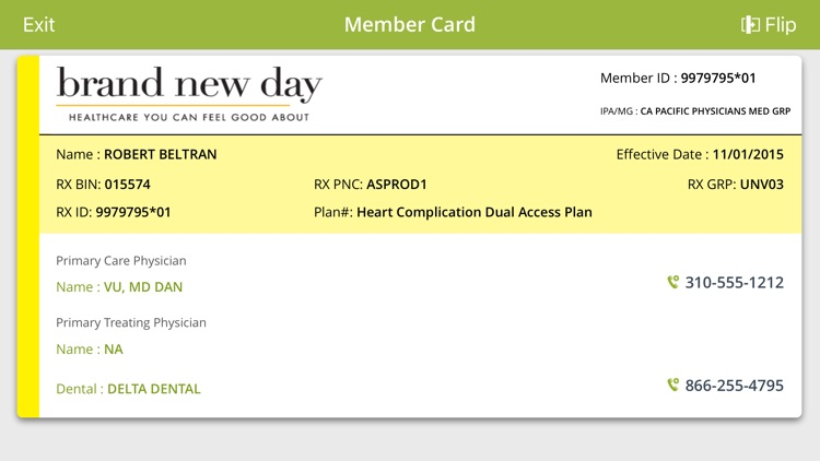 Brand New Day Health Plan