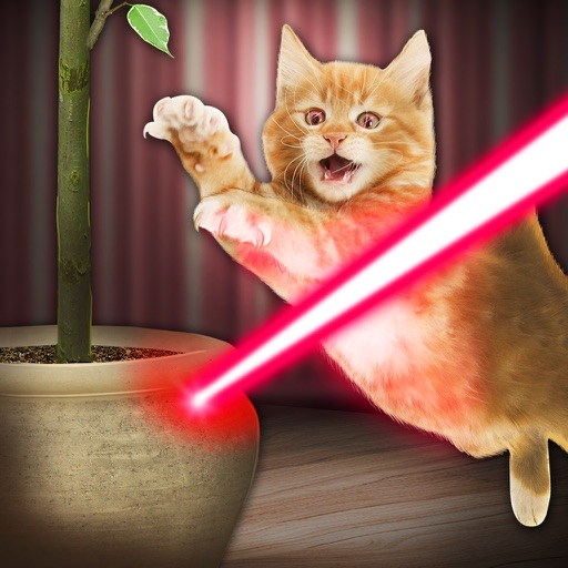 Симулятор Лазер для Кота