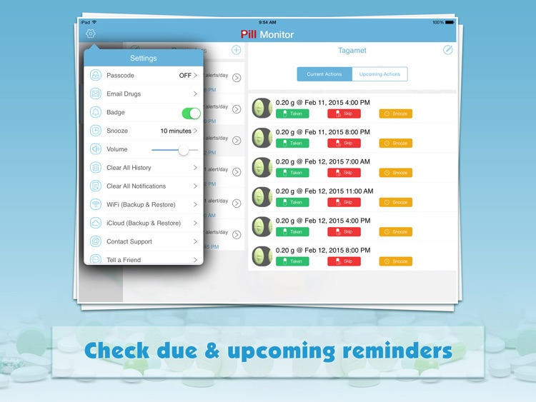 Pill Monitor for iPad screenshot-4