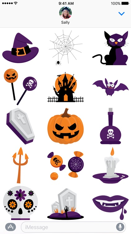 Halloween - Stickers for iMessage