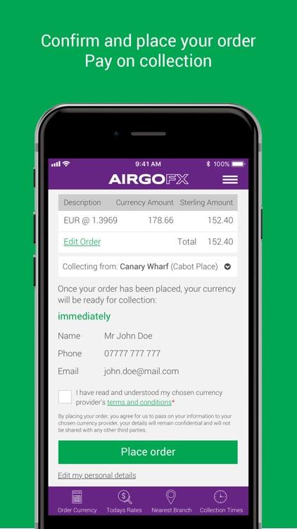 AIRGOFX - Travel Money Online screenshot-6