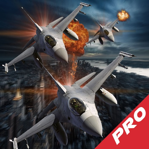 Air Combat Airplane Vindictive Pro - Dangerously Addictive Air Simulation Game icon