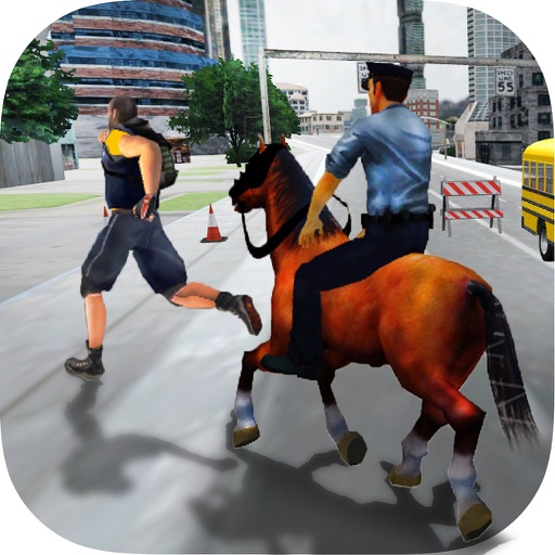 Police Horse - Criminal Chase Simulator