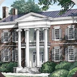 Plantation Style - House Plans