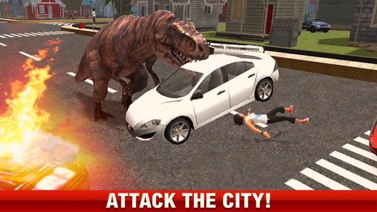 2016 Dinosaur simulator park Dino world fight-ing screenshot-3