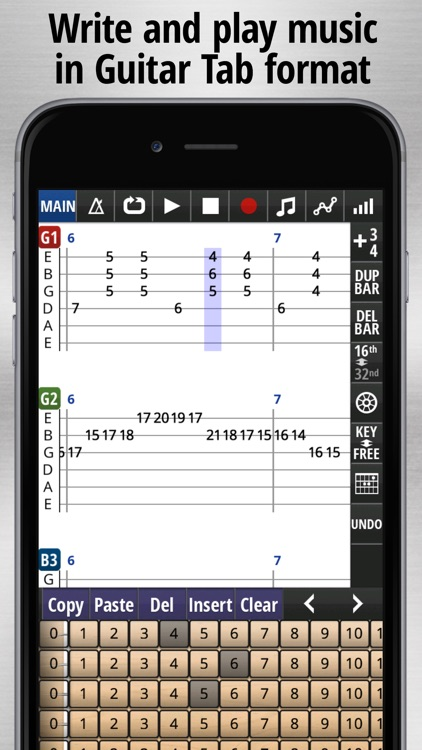Jam Maestro - guitar tab sequencer