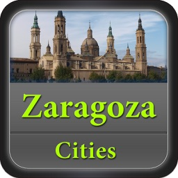 Zaragoza Offline Map City Guide