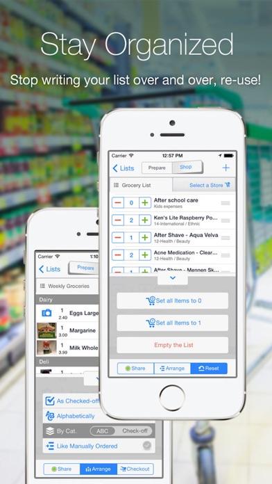 Grocery Gadget - Shopping List Screenshot 3