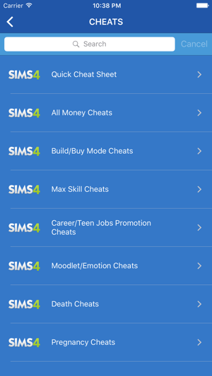 <b>Cheats</b> for <b>Sims 4</b> (<b>Cheat codes</b> &amp; Guides) on the App Store