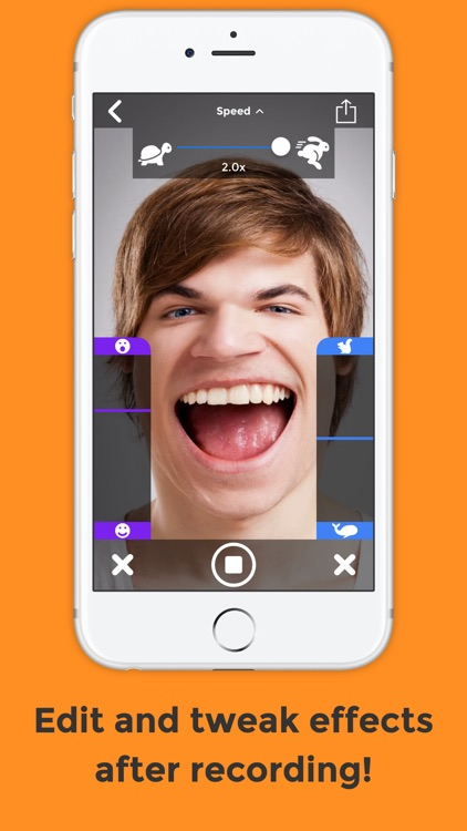 BendyBooth Face+Voice Changer: Make funny videos screenshot-3