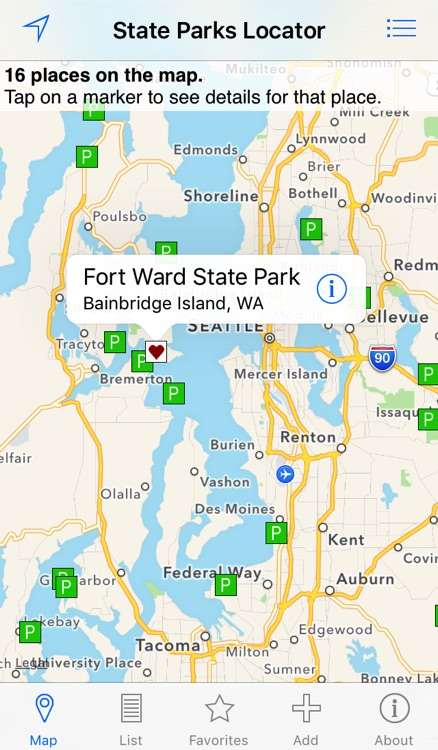 State Parks Locator screenshot-0