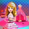 公主定制礼服沙龙: 做衣服的时装设计师游戏的女孩