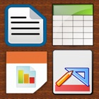 Documents Unlimited Suite for iPhone - Editor for OpenOffice and Microsoft Office Word & Excel Files icon
