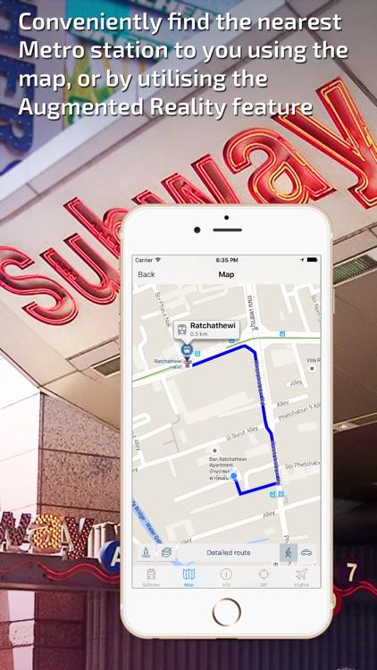 Bangkok Metro Guide and MRT/BTS Route Planner screenshot-3