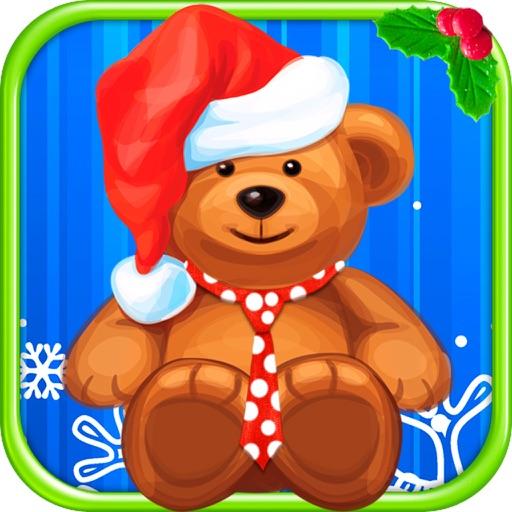 Christmas Bear Dress Up Virtual Salon Makeover Pet
