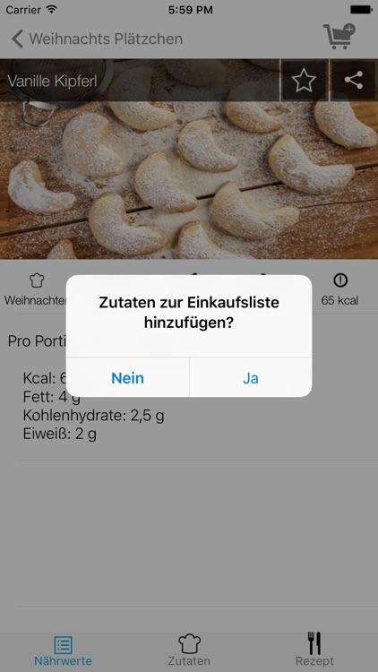 Weihnachtsplätzchen Low Carb - die leckersten Backrezepte screenshot-4