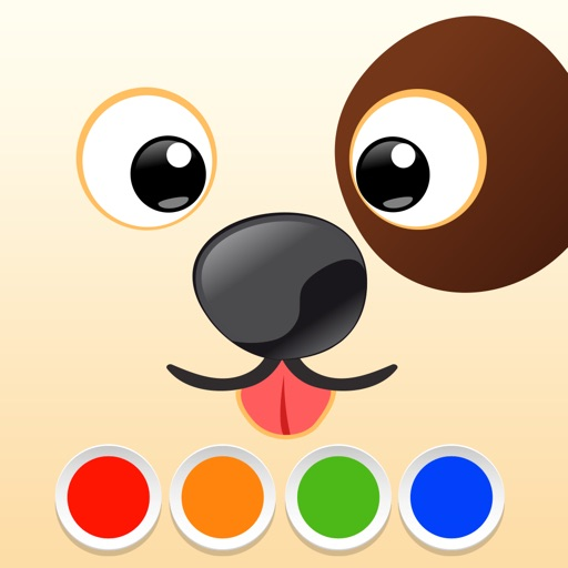 Coloring Book - Dogs iOS App
