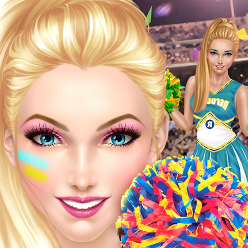 Cheerleader Salon™ Basketball Madness Makeover