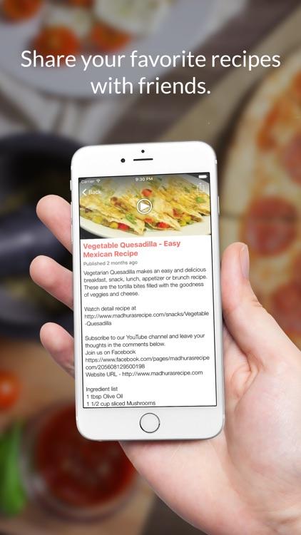 Portuguese Recipes: Food recipes & cookbooks screenshot-3