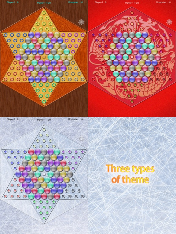 Screenshot #6 pour Realistic Chinese Checkers
