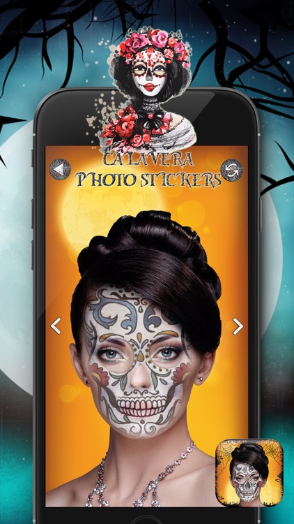 Calavera Photo Stickers screenshot-4