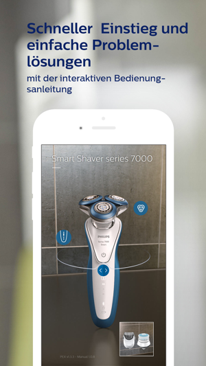 Smart Shaver Rasierprogramm Screenshot