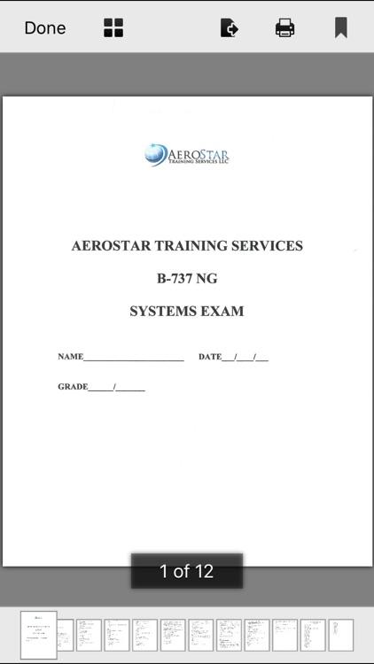 AeroStar B737NG Study App screenshot-4