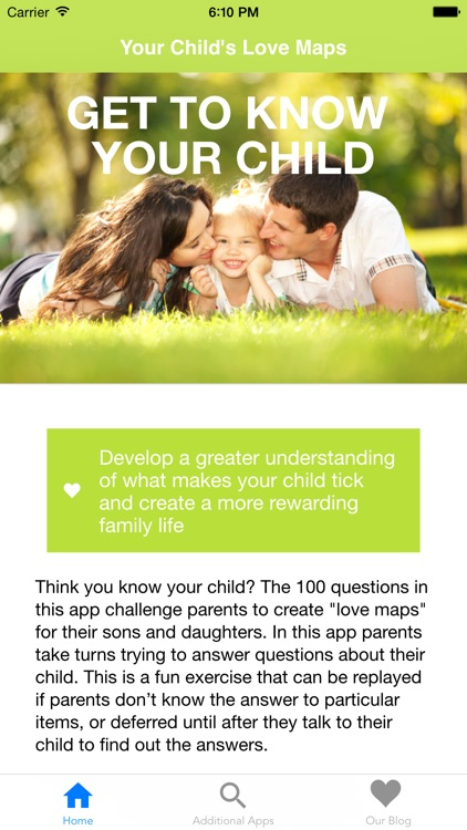 Your Child's Love Map