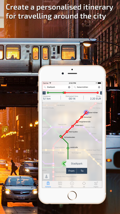 Vienna U-Bahn Guide and Route Planner screenshot two