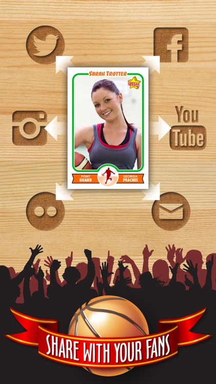 Basketball Card Maker (Ad Free) - Make Your Own Custom Basketball Cards with Starr Cards screenshot-3