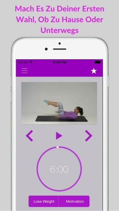 Pilates Einsteiger Übungen Training AusbildungScreenshot von 4