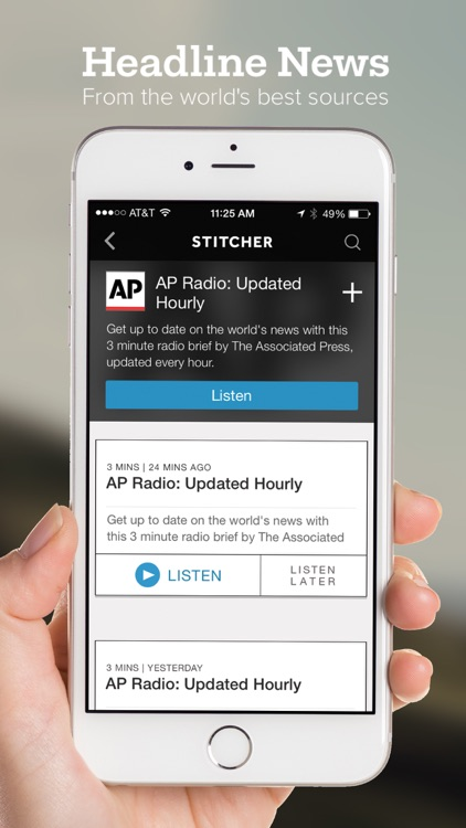 Stitcher Radio for Podcasts app image