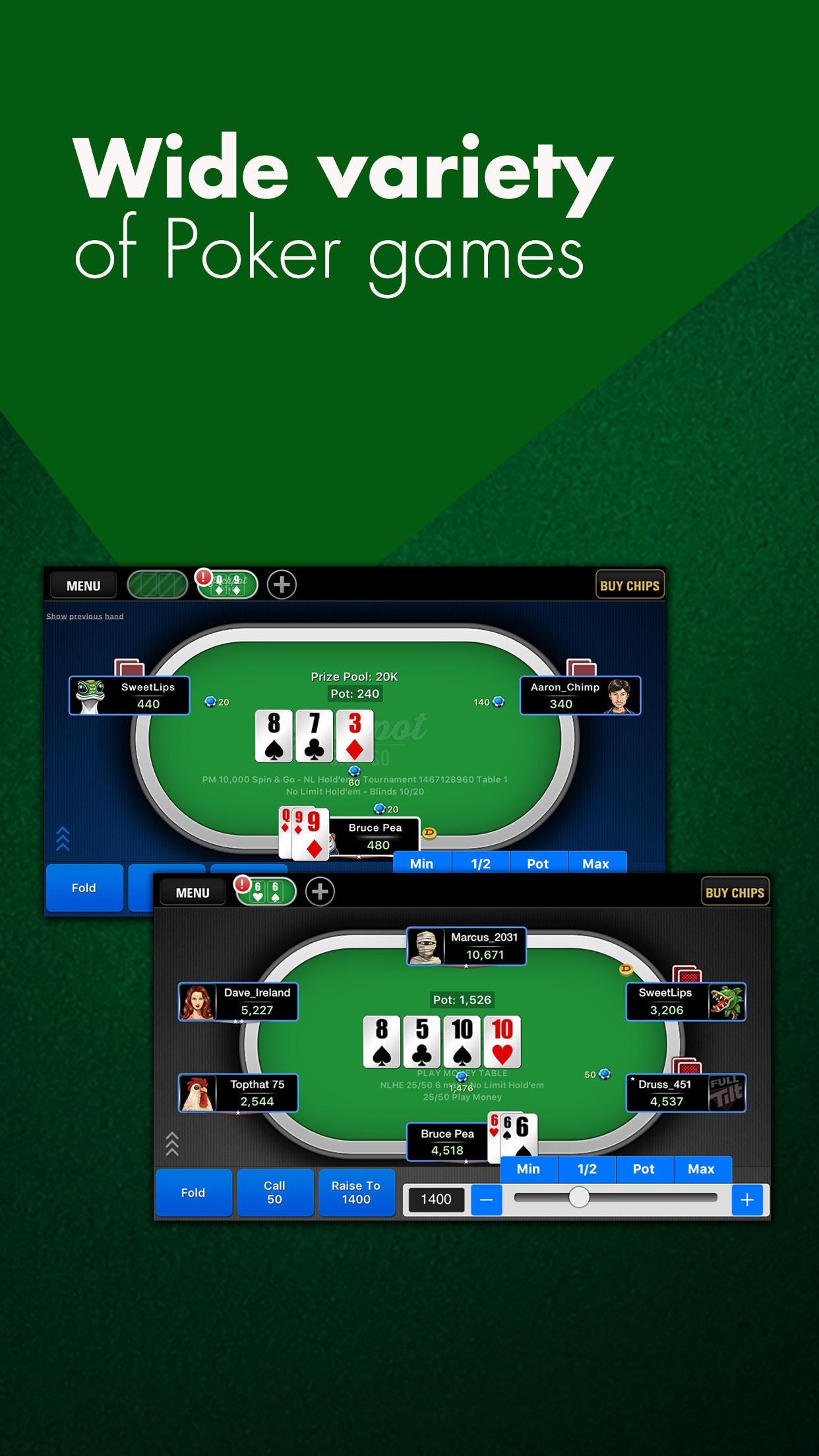 Full Tilt Poker - Free Play - NET Screenshot